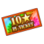 Ticket 10 Pi icon.png