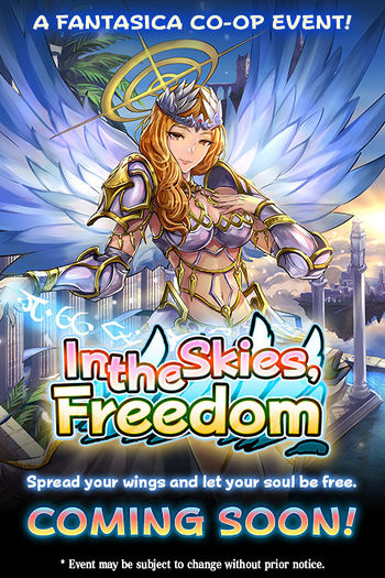 In the Skies, Freedom announcement.jpg