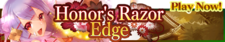 Honor's Razor Edge release banner.png