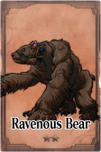 <*Vaatigam's diary*>  - CLOSED at March 27th 2015 350px-Ravenous_Bear_card