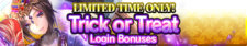 Trick or Treat Login Bonuses release banner.png